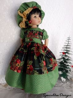"""*Simply Christmas* made for 13"""" Effner Little Darling by -Specialdee Designs-"""