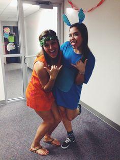 Lilo and Stitch Halloween costume!