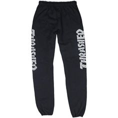 8693808178d Thrasher Skull Sweatpants ❤ liked on Polyvore featuring activewear