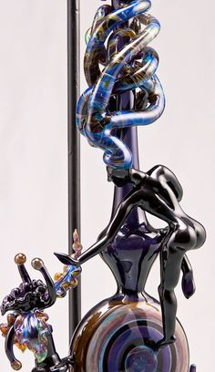 An amazing image list of the hidden and beautiful art of glass pipe blowing