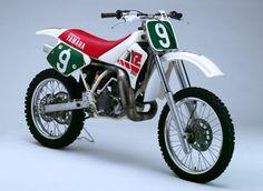 John Van Den Berk Yamaha factori YZ 250 cc. 1988