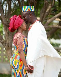 That Ghanaija love! Congrats Stella & Tunde African Life, African Culture, African Wear, African Women, African Fashion, African Style, Ankara Fashion, African Beauty, Women's Fashion