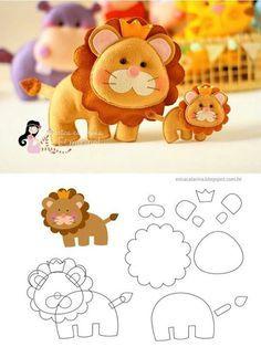 baby felt lion - Cerca con Google