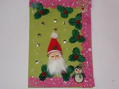 Ranjana's Craft Blog: Handmade Christmas Card-Merry Christmas