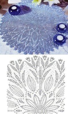 This Pin was discovered by Barbara Szwedo. Discover (and save!) your own Pins on… – Gabriele horn - Crochet Filet Crochet, Col Crochet, Crochet Doily Diagram, Crochet Carpet, Crochet Dollies, Crochet Round, Thread Crochet, Crochet Amigurumi Free Patterns, Crochet Doily Patterns