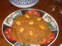 Moroccan Sellou Recipe - Sfouf or Zmita Recipe....it's like crack on a plate.