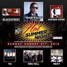 KBLX Hot Summer Nights