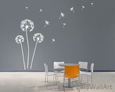 Dandelion Blowing in the Wind Wall Decals Dandelion Wall Art, Dandelion Decal, Vinyl Dandelion Wall Decor,Flower Dandelion Wall Sticker Dandelion Wallpaper, Dandelion Wall Decal, Flower Wall Stickers, Wall Wallpaper, Deco Stickers, Cheap Wall Stickers, Wall Decals For Bedroom, Vinyl Wall Decals, Wall Design