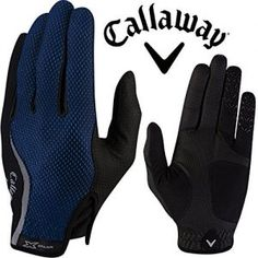"""NEW 2016"" CALLAWAY X SPANN RAIN SERIES WINTER GOLF PLAYING GLOVES / 1 x PAIR (Large)"