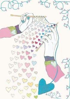 knitting = love