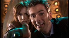 The Doctor and Donna! :D