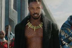 Michael B. Jordan Is a Powerful Foe in Latest 'Black Panther' Trailer