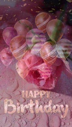 Happy Birthday Emoji, Happy Birthday Greetings Friends, Happy Birthday Woman, Happy Birthday Wishes Cake, Birthday Cheers, Birthday Wishes And Images, Happy Birthday Flower, Happy Birthday Pictures, Happy Birthday Messages