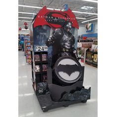 Batman v Superman Dawn of Justice Pallet Display POP Display