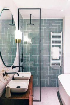 35 Lovely Bathroom Decor Ideas Match With Your Home Design Style bathroom bathroomdecor bathroomdecorideas Bathroom Layout, Bathroom Interior Design, Bathroom Ideas, Bathroom Vanities, Bathroom Organization, Budget Bathroom, Tile Layout, Bathroom Cabinets, Bath Ideas