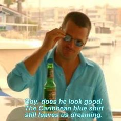 G with a awesome blue color button-down shirt Pretty Men, Pretty Boys, Beautiful Men, Ncis Los Angeles, Old Tv Shows, Haiku, Movie Tv, Hot Guys, Identity