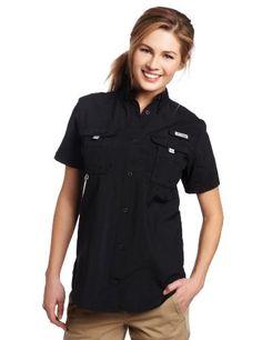 Columbia Sportswear Women's Womens Bahama Short Sleeve Shirt, Large, Black by Columbia, http://www.amazon.com/dp/B0058YTNA6/ref=cm_sw_r_pi_dp_01SEqb0NMN7EM/?tag=isumomof2