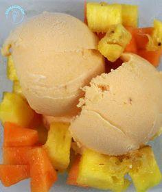 Eiskalt erwischt mit Martha und Ananas-Papaya-Eis
