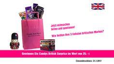 Gewinnen Sie mit Very British. Candys Gewinnspiel des Monats goes GB.