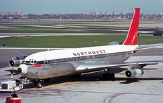 Airlines of America Boeing 707, Boeing Aircraft, Passenger Aircraft, Republic Airlines, Business Trip Packing, Mercury, Northwest Airlines, Illinois, Helicopter Plane