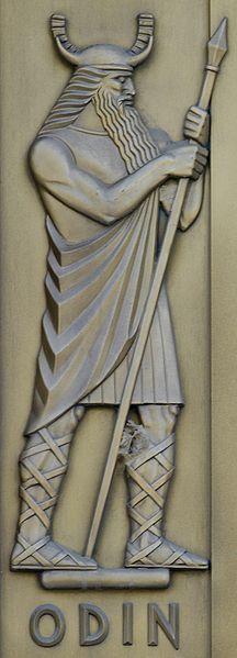 Lee Lawrie, Odin (1939). Library of Congress  John Adams Building, Washington, D.C.