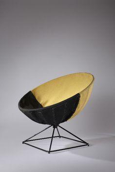 Joseph-André Motte/ ARP; 'Radar' Chair, 1955.