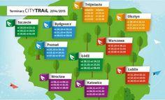Właśnie ruszyły zapisy na jedną z Naszych ulubionych imprez biegowych w Polsce:) O jakiej imprezie mowa?  Cykl City Trail, wcześniej znany nam pod nazwą zBiegiemNatury.  Biegać można będzie po raz kolejny..., tym razem aż w 11 miastach w Polsce! Świetna organizacja, niezapomniana atmosfera, niepowtarzalne miejsca startów:) Wszystko w jednym cyklu.  Czekaliśmy cały rok:)  #CityTrail