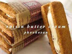 バターサンドのラムレーズンバタークリーム