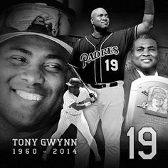 3 Sizes Tony Gwynn RIP In Memory # 19 Padre Vinyl Decal Car Window Wall Sticker
