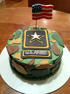 Army Birthday Cake I think this is probably the coolest cake ever