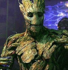 Aww :( Poor Groot!