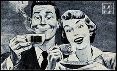 Drinking black coffee staring at the wall / Mugmugmug I don't need no booze or drugs I just chug-a-lug-o my coffee mug Coffee Love, Coffee Art, Coffee Break, Coffee Mugs, Morning Coffee, Coffee Drinks, Vintage Ads, Vintage Posters, Mugs