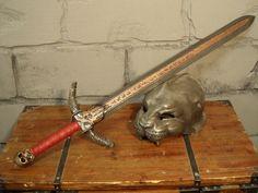 """foam made chaos sword """"Khorne""""  -  aus Schaum gefertigtes Chaosschwert """"Khorne"""""""
