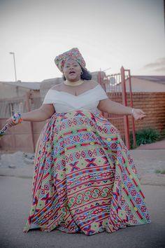 A Gorgeous Ndebele-Xhosa Wedding African Bridal Dress, African Wedding Attire, African Attire, African Dress, Indian Bridal, African Fashion Ankara, Latest African Fashion Dresses, African Print Fashion, African Traditional Wedding Dress