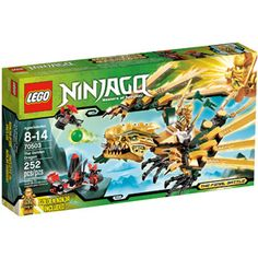 LEGO Ninjago The Golden Dragon Play Set This has the gold ninja-a must-have for my sons. Buy 2