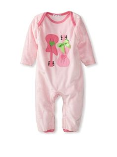 30% OFF Rumble Tumble Baby Guitar Plush Coverall (medium pink) #apparel #Kids