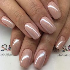 36 nude nail polish colors - find the best neutral nail polish design - . - 36 nude nail polish colors – find the best neutral nail polish design – - Wedding Day Nails, Bridal Nails, Wedding Makeup, Natural Wedding Nails, Wedding Nail Polish, Wedding Manicure, Neutral Nail Polish, Nail Polish Colors, Sns Nails Colors