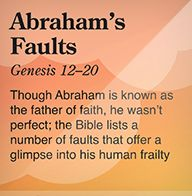 """Abraham is called """"The friend of God""""; yet, he was not perfect ....we are not called to be """"perfect""""....we are called to be """" set apart"""" for God's use."""
