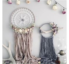 Meadow and Moss Dreamcatcher