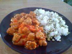 Sojová směs a rýže s mungem