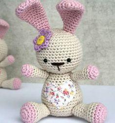 ❤ Aranyos szívecskés amigurumi nyuszi (magyar horgolásminta) ❤Mindy - kreatív ötletek és dekorációk minden napra