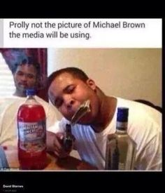 Michael Brown was clearly a thug and all those protesters need to understand that the cop wasn't being racist, he was doing his job!