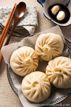 Addictive Kimchi Pork Steamed Buns - My list of the most healthy food recipes Steam Buns Recipe, Asian Cooking, International Recipes, Asian Recipes, Chinese Recipes, Asian Foods, Love Food, Food To Make, Food Photography