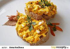 Hokkaido pomazánka s Cottage sýrem recept - TopRecepty.cz
