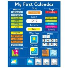 calendar. my kids loves this so they can know date, weather so theyll know what to wear, class schedule, homework & activities #LanceBacktoSchoolChecklist