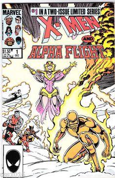 X-MEN & ALPHA FLIGHT 2-part Copper Age SERIES from Marvel!  http://r.ebay.com/ZENKAd