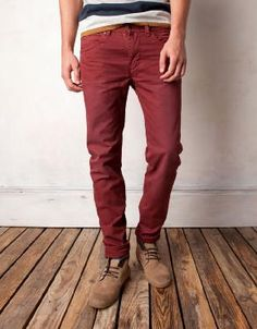 26 Ideas De Pantalones De Colores Para Hombres Pantalones De Colores Hombres Pantalones