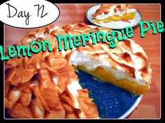 Laura's Lemon Meringue Pie [DAY 72] ★ watch the video: http://youtu.be/MHNA3XdNe-w ★  I'm trying A NEW RECIPE OF Laura in the Kitchen EVERY DAY and sharing its conversion into the metric system, come and join me on my yummy challenge! :)