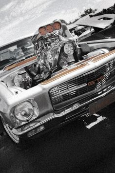Old Skool Holden blown HQ GTS by RaynePhotography on DeviantArt Australian Muscle Cars, Aussie Muscle Cars, American Muscle Cars, My Dream Car, Dream Cars, Hot Rides, Old Skool, Motocross, Custom Cars