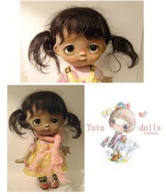Tutu Black Wig, Bjd, Tutu, Disney Characters, Fictional Characters, Teddy Bear, Dolls, Disney Princess, Animals
